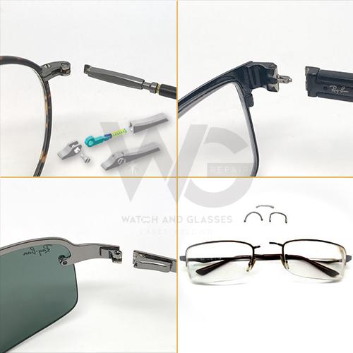 317788f68dd1 MG2 Glasses Spring Hinge or Flexon Bridge Replacement - WGR