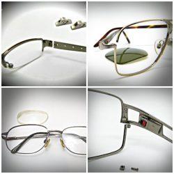 ed5bb1a7e5d4 TG1 Titanium Glasses Hinge Repair - No Spring - Barrel & Pad Arms ...