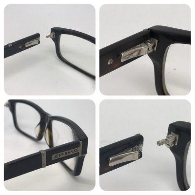 Plastic Glasses Hinge repair