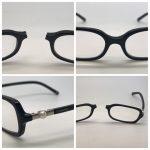Plastic Glasses Bridge repair