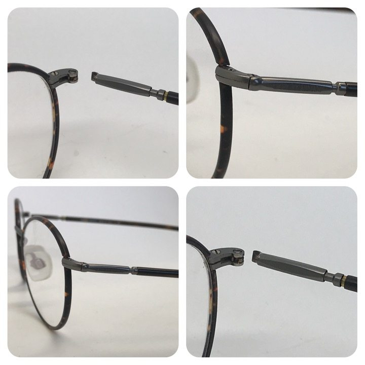 how to fix glasses spring hinge