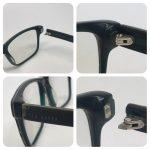 Plastic frame hinge repair
