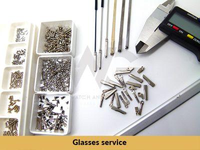 Glasses service