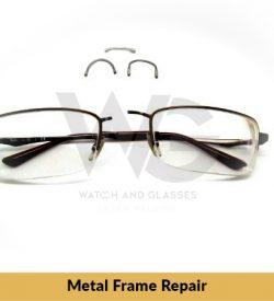 Titanflex Glasses repair ( Bridge Replacement)