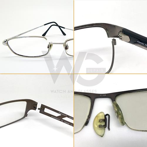 319508fb1561 MG1 Glasses Hinge Repair - Barrel & Pad Arms Welding - WGR